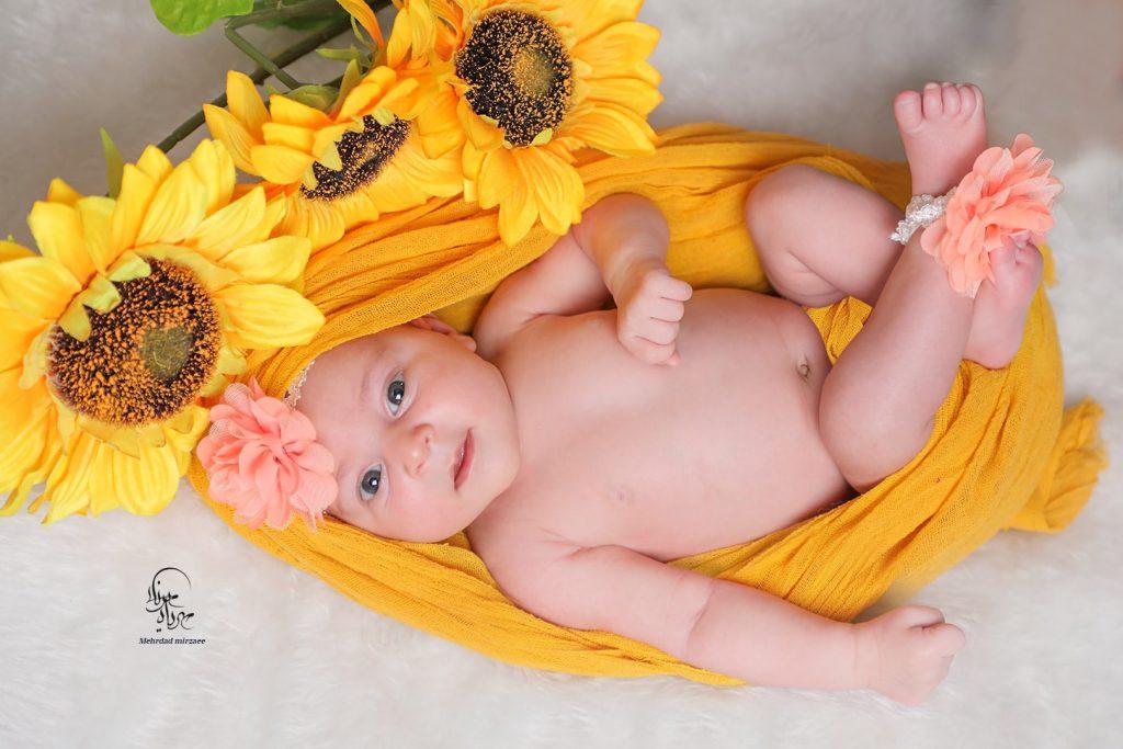 عکاسی نوزاد در کرج_ آتلیه نوزاد در کرج جهانشهر