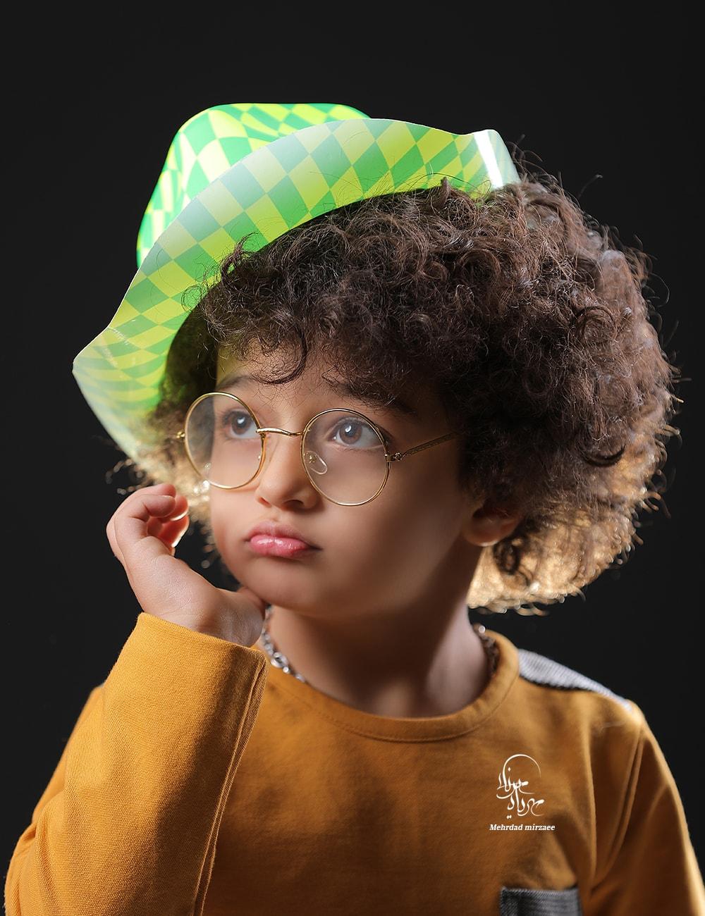 عکس پرتر کودک / آتلیه کودک در کرج / مهرداد میرزایی/بهترین آتلیه کودک در کرج/
