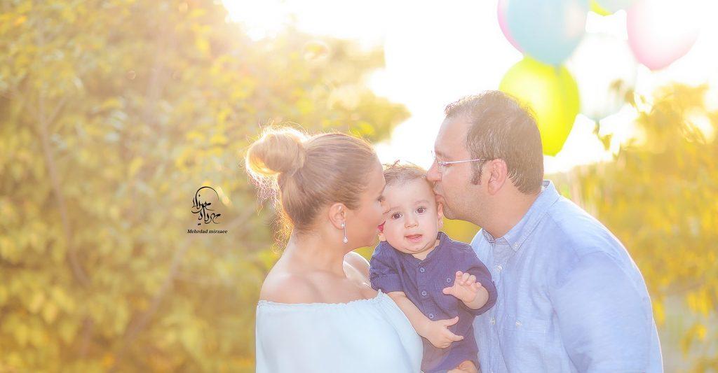 عکاسی پدر و کودک در کرج
