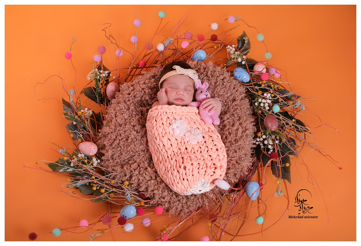بهترین آتلیه نوزاد در کرج _ آتلیه تخصصی نوزاد در کرج