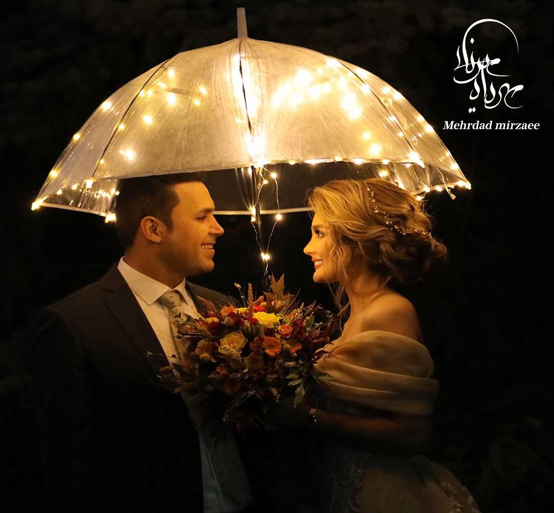 عکاسی تخصصی عروس و داماد در کرج
