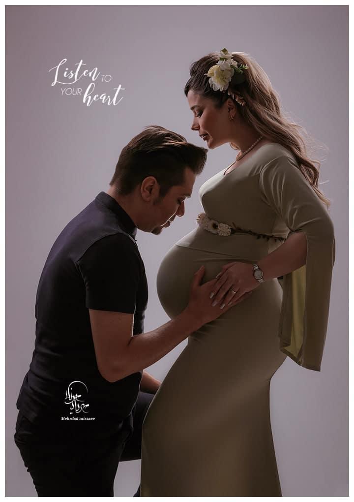 ایده عکس بارداری